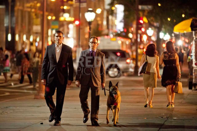 "On the set of ""Person of Interest"""